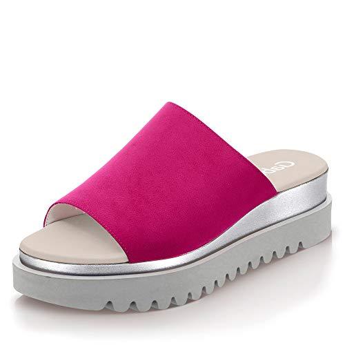 Gabor Shoes Damen Jollys Pantoletten, Mehrfarbig (Fuxia 40), 38 EU