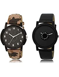 The Shopoholic Green Black Combo Best Combo Pack Green And Black Dial Analog Watch For Boys Watch Boy