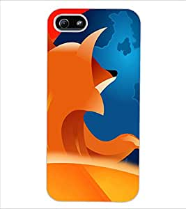 ColourCraft Abstract Image Design Back Case Cover for APPLE IPHONE 5