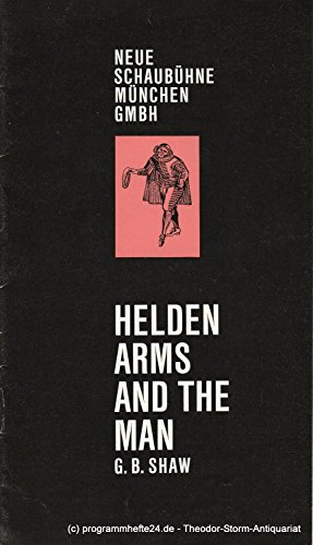 Programmheft HELDEN. Arms an the man. Heft 2 1969 / 70