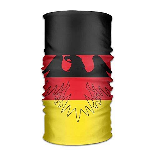 German Flag Women Men Cool Headwear Bandanas - Multifunctional Headband Sports Magic Scarf For Outdoor Activity