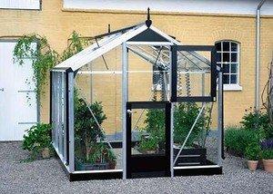 Serre en verre horticole Compact 6,6m²