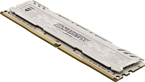 Best Ballistix Sport LT 16GB Kit (8GBx2) DDR4 2400 MT/s (PC4-19200) SR x8 DIMM 288-Pin – BLS2C8G4D240FSCK (White) Online