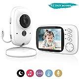COLORWAY Bébé Moniteur Babyphone Vidéo Caméra Sans Fil, LCD Ecran Surveillance...