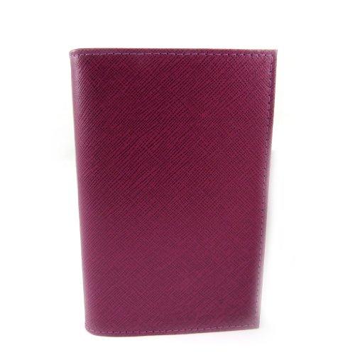 Frandi [L3449] - Porte Papiers de voiture Cuir 'Frandi' violet (ultra plat)