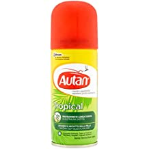 Autan Tropical Spray, Secco Repellente - 100 ml