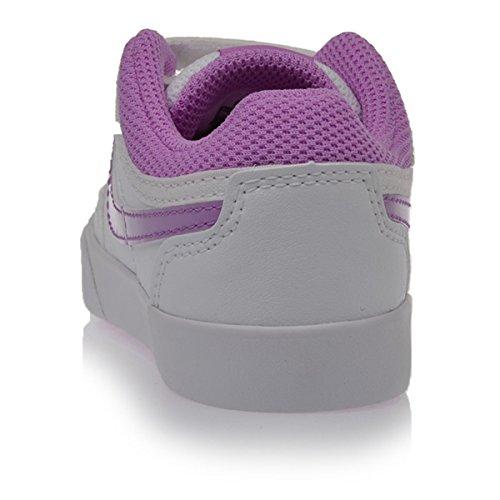 Nike Capri 3 LTR (TDV) Mules Bébé-Enfant Blanco / Morado (White / Fuchsia Glow)