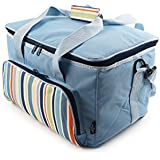 The Greenfield Collection CB010H - Sac isotherme bleu ciel de 30 litres