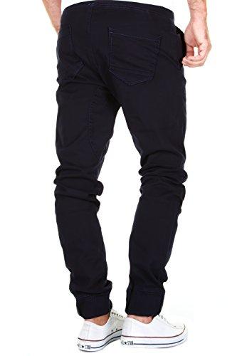 0e7770de031b98 Merish Uomo Pantaloni Chino Cotone, Pantaloni di Panno, Slimfit Pantaloni  Casual Uomo Pantaloni Jogging Pantaloni Chino, Jeans 2 Colori Diversi  Modell 2054
