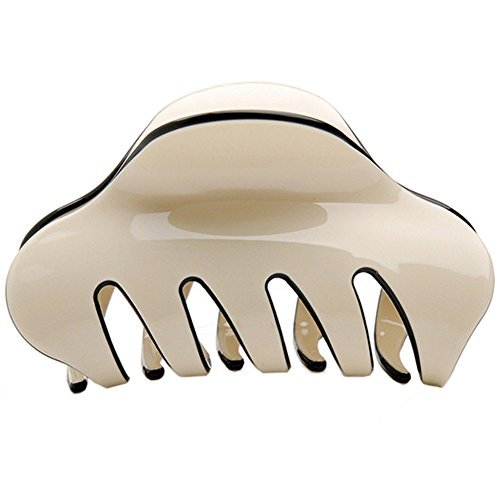 Pince Crabe Cheveux en Acrylique Pince Cheveux Griffe Ornement de Coiffure
