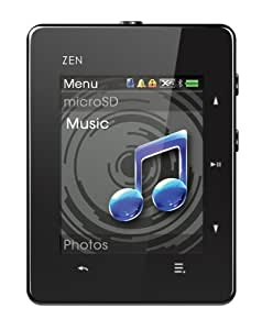 Creative ZEN X-Fi3 8GB Touch MP3 Player with Bluetooth