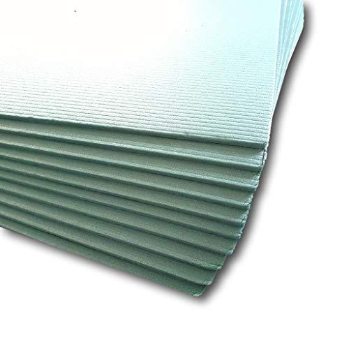 w-mtools® Trittschalldämmung 5 mm Dämmung 50m² Boden für Laminat Parkett, 5mm - XPS I inkl. Anleitung & Ratgeber I Zertifiziert