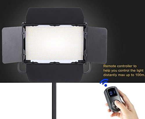 Preisvergleich Produktbild Gowe Fotografie Studio Lampe CRI 95+ 1040pcs LEDs 3840lm 3200K-5600K Video Licht für Canon Nikon Sony Kamera Camcorder