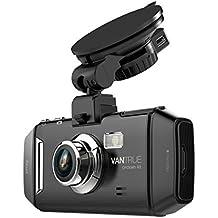 Vantrue Dash Cam per auto, Ultra HD, schermo LCD, per cruscotto auto, con visione notturna