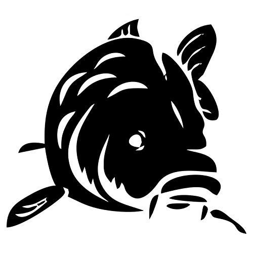 15,9 * 14,2 cm Car Cover Kratzer Klassische Cartoon Tier Fisch Dekorative Aufkleber Mode Auto Aufkleber 5 stücke