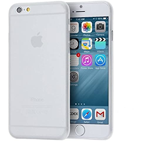 wanit Ultra Slim Cover 0,3mm Custodia per Apple iPhone 6 (4,7