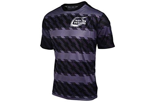 Troy Lee Designs Skyline Short Sleeve Jersey Men Registration black 2017 Short Sleeve Cycling Jersey