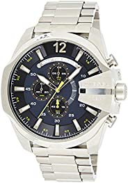 Diesel Men's Blue Dial Stainless Steel Band Watch - DZ
