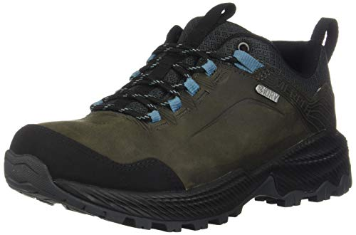 Merrell Forestbound Waterproof, Zapatillas de Senderismo para Mujer, Gris Boulder, 42.5 EU