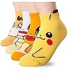Dani's Choice Calcetines con personajes famosos de animación japonesa multicolor Mario Bros 5 Pairs Talla única