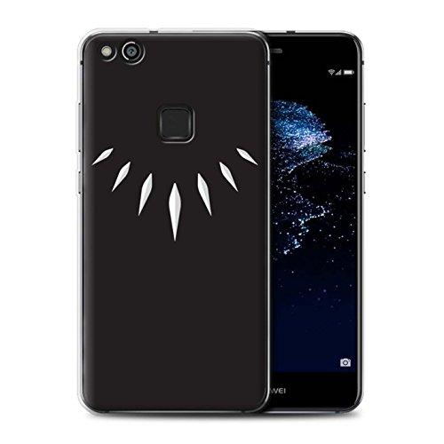 lle/Case für Huawei P10 Lite/T'Challa Klauenhalskette Muster/Schwarzer Panther Inspiriert Kollektion ()
