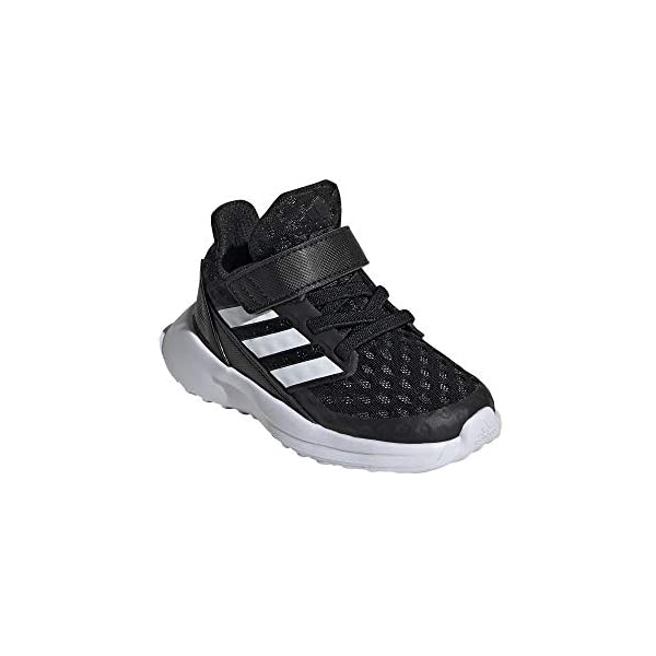 adidas Baby Girls' RapidaRun El Shoes Running, Negro (CORE Black/FTWR White/FTWR White), 3 UK