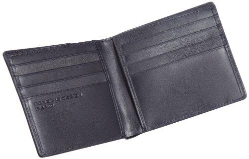 Porsche Design Classic Line 2.1 09/12/19116, Portafoglio uomo, 11 x 9 cm, Nero (Schwarz (black 01)), 11x9 cm (L x A x P) Nero (Schwarz (black 01))