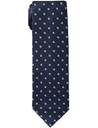 Barata Formal Ties For Men, Blue Dobby Tie