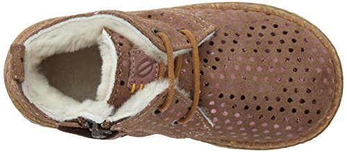OCRA 493MS, Baskets hautes mixte enfant Marron (MALVA)