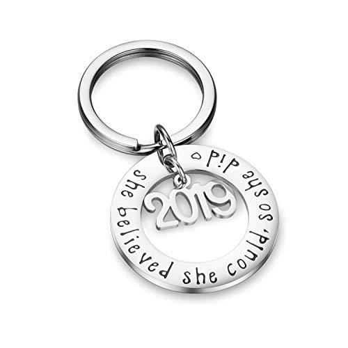 CJ&M 2019 Schlüsselanhänger mit Aufschrift