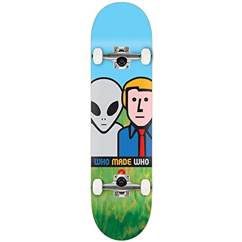 Alien Workshop Who Made Who komplett Skateboard – 20,3 cm (Alien Skateboard)