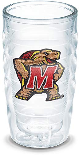 Tervis 1006525 Central Michigan Chippewas Logo Tumbler with Emblem 12oz, Clear