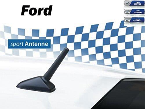 g-Kurzstab-Sport-Dach-Ersatz-Antenne für Ford mit M5+M6 Gewinde ()