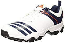 Adidas Mens 22Yards Trainer 17 Ftwwht/Conavy/Energy Cricket Shoes - 6 UK/India (39.33 EU)
