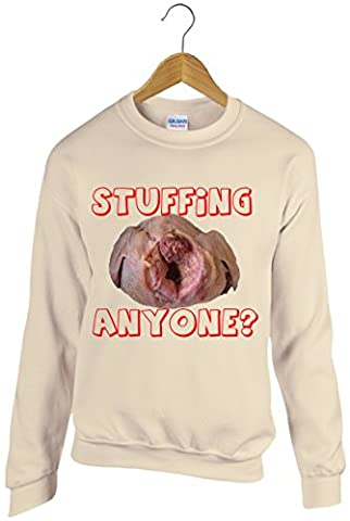 Crude and rude, Turkey inspired Christmas Jumper Sweatshirt Xmas sick unpleasant and twisted, as a result the perfect gift for someone!
