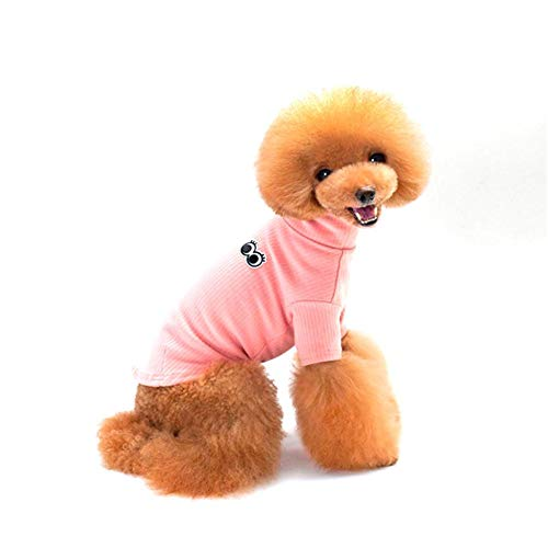 Eillybird Pet Clothes Teddy Dog Clothes Pets Turned Into Thick Four Feet Autumn and Winter Clothing Sweatshirt Big Eyes Muster Eye-muster