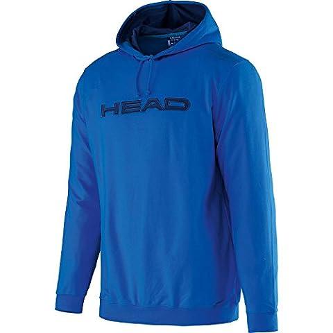 HEAD Byron Hoody Sweater Herren Pullover Tennis Kapuzenpullover Blau 811233 BLNV, Größenauswahl:3XL