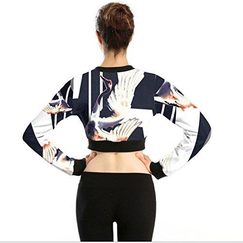 Belsen - Sweat-shirt - Femme Medium swan