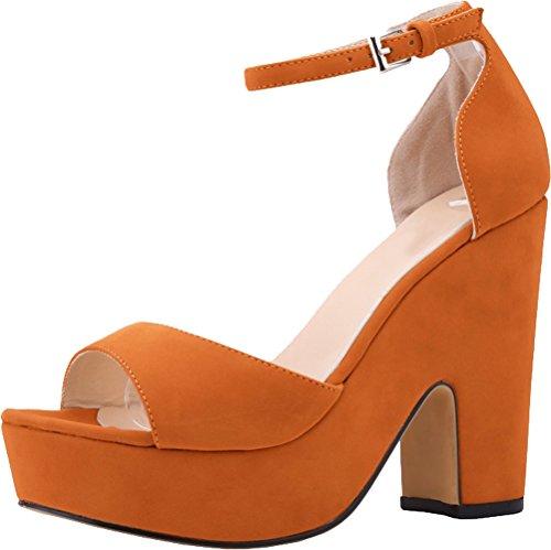 Sandali Piattaforma Salabobo Della Arancione Donne wvqFqS