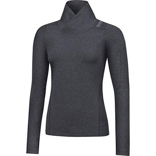 GORE WEAR Damen SUNLIGHT LADY Thermo Shirt lang -  Grau (Raven Braun), 34