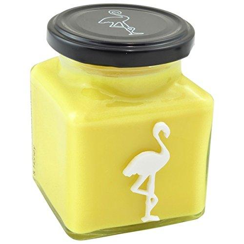 Flamingo Candles - Candele profumate Tropical, gusto latte di cocco e miele, (Miele Candela Profumata)