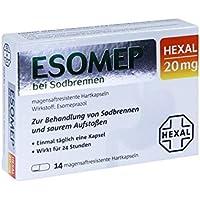 Esomep Hexal 20 mg, 14 St. Kapseln preisvergleich bei billige-tabletten.eu