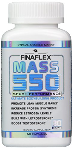 Mass 550, Ultimate Bodybuilding Product, Promote Lean Muscle Gains,  Increase Protein Synthesis, Boost Testosterone, D-Aspartic Acid, Fenugreek,