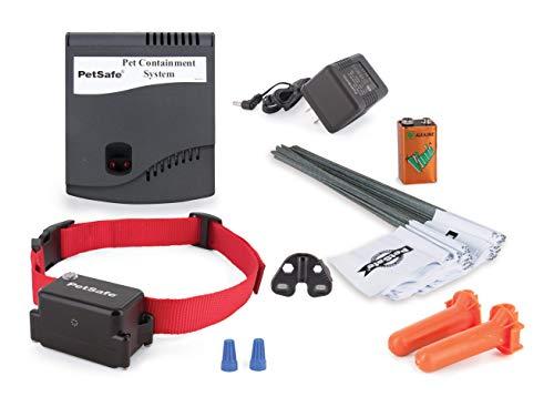 PetSafe - Système de Clôture Anti-fugue avec Fil pour Grand Chien ou Chien Têtu - Tous types de Jardin - Imperméable - Facile à Installer