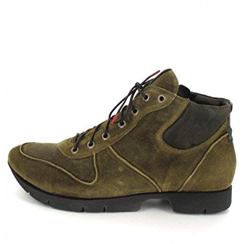 Pensa A Renna 87086-52 Stivali Da Donna E Ankle Boots In Safari Medio