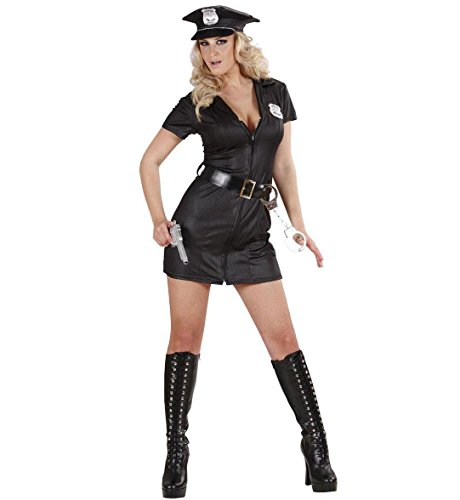 R FANCY DRESS COSTUME (Girl Cop Kostüm Kinder)