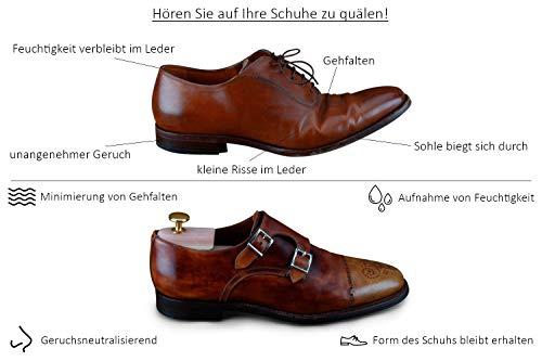 41M78dtmiWL - Langer & Messmer, Hormas para zapatos de madera de cedro, tamaño 44/45, el original
