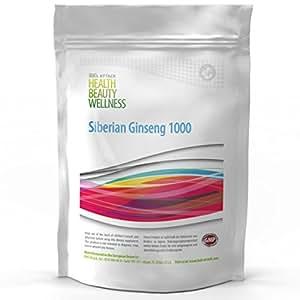 SIBIRISCHER GINSENG | 500 Tabletten (vegan) á 1000 mg | Großpackung | Vitalität - Energie - Portenz - Wohlbefinden | Premium Qualität zum besten Preis!