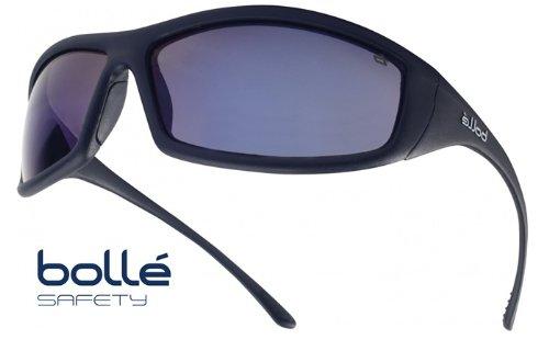 Bollé Sicherheitsbrille Solis, 1 Stück, Einheitsgröße, schwarz, SOLIFLASH (Solo-speicher)