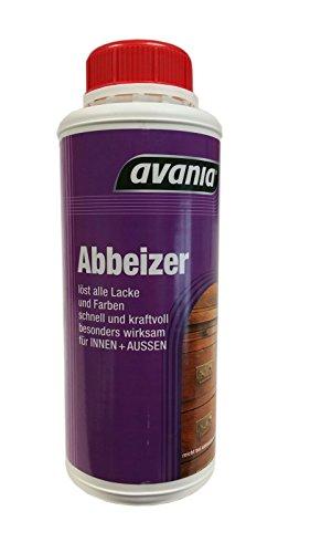 Avania Abbeizer Löst alle Lacke und Farben Innen und außen 750 ml